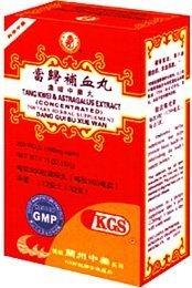 Tang Kwei & Astragalus Extract (Dang Gui Bu Xue Wan) 200 Pills X 12 Bottles by Lanzhou Traditional Herbs (Image #1)