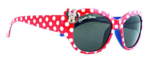 Disney Minnie Mouse Red and White Spotty Sunglasses -
