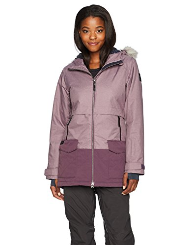 Columbia Women's Catacomb Crest Parka Jacket, Dusty Purple, X-Large (Insulated Sportswear Columbia Parka)
