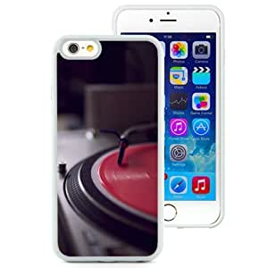 NEW Unique Custom Designed iPhone 6 4.7 Inch TPU Phone Case With Vintage Turntable_White Phone Case