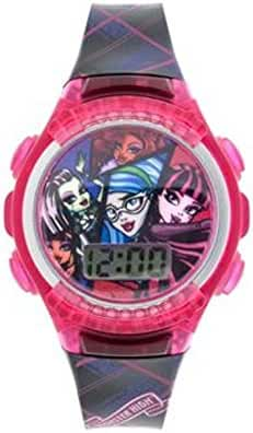 Tendy & Fashionable Monster High Girls LCD 7' Watch - BAtteries Included