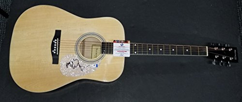 Billy Ray Cyrus Hand Signed Autographed Acoustic Guitar Country Star GA - Sta Legend