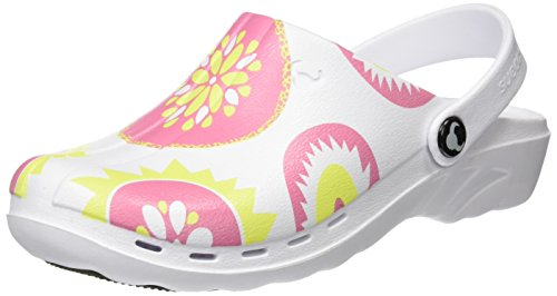 Suecos® Work Clogs Print Oden Multicolor 15 Unisex Adults' UwIqrUS