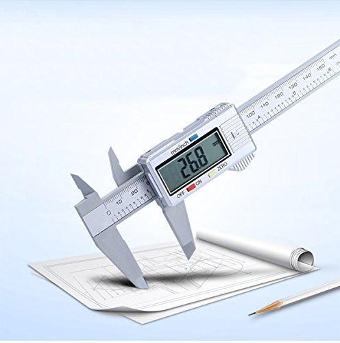 Digital Caliper - 6'/150mm Vernier Caliper with Extra Large LCD Screen