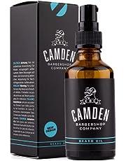 Camden Originele Baardolie - Natuurlijke Olie Verzorging met Frisse Geur Voor Baard of Haar - Baardolie voor Groei met Conditioner - 50ml flesje