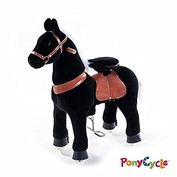 inovtex - Pony Cycle - Caballo Sobre Ruedas, Negro: Amazon.es: Juguetes y juegos