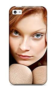 Iphone 5c DCYOMSD7660MrBio Women Face Tpu Silicone Gel Case Cover. Fits Iphone 5c