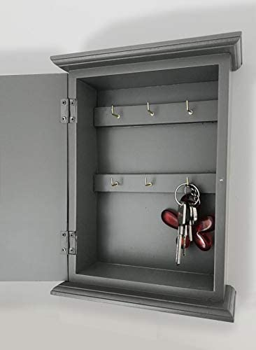 Charcoal Grey Key Cabinet