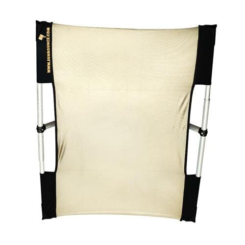 California Sunbounce Micro Mini (2 x 3 Feet) Kit - Reflector Panel Kit with Frame and Carry Bag (Zebra/White) by California Sunbounce