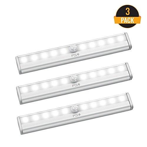 LED Motion Sensor Light 10 LED Battery Operated Lights ...