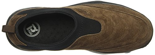 Propét Mens Tvätt N Bära Slip On Ii Walking Sko Sr Brownie / Svart