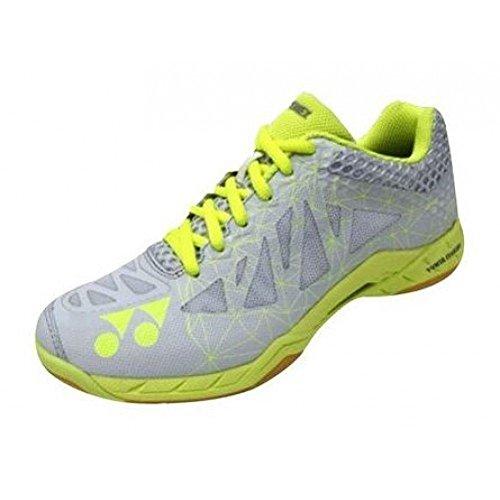 Yonex Aerus 2 LX Women's Badminton Court Shoes (W 8.5/25.0 cm, Grey)