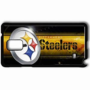 Personalized Samsung Note 4 Cell phone Case/Cover Skin 1447 pittsburgh steelers Black
