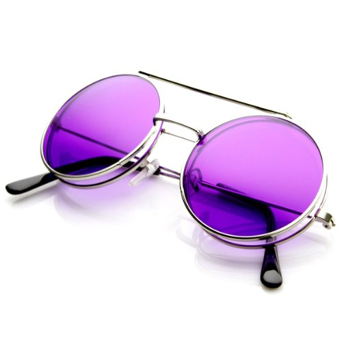 356c756322 Limited Edition Color Flip-Up Lens Round Circle Django Sunglasses ...