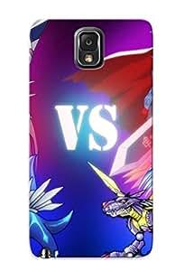 New Fashionable Tullemetri PWEzkju608zSGXT Cover Case Specially Made For Galaxy Note 3(digimon V Pokemon Digimon V Pok Mon Photo )