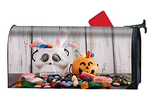 BYUII Mailbox Covers Holiday Halloween Candy Sweets Front