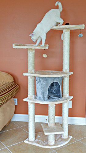 aeromark international armarkat cat tree furniture condo. Black Bedroom Furniture Sets. Home Design Ideas
