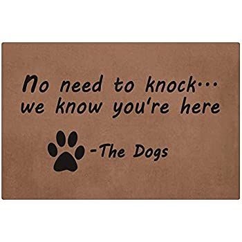 Amazon Com Durable Doormat Washable Non Slip Rug No Need