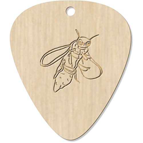 7 x 'Firefly' Engraved Guitar Picks / Pendants (GP00013807)