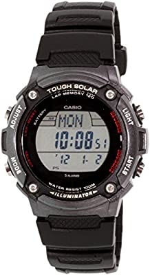 "Casio Men's WS200H-1BVCF ""Tough Solar"" Sport Watch"