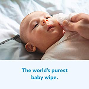 WaterWipes Sensitive Baby Wipes, 28 Count (Pack of 7)
