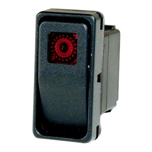 Cleveland 300278-CLE Rocker DPDT On//Off Red Left Switch