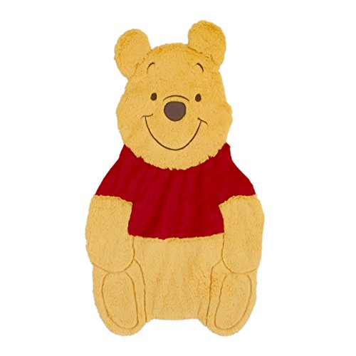 Disney Winnie the Pooh Tummy Time/Play Time Mat, Yellow/Red (Crafts Pooh The Winnie)