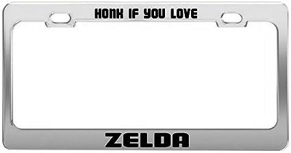 Zelda Shield License Plate Car Tag Vanity Plate