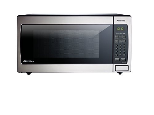 Countertop Microwave Oven Reviews 2017 : Panasonic NN-SN766S Countertop/Built-In Microwave with Inverter ...
