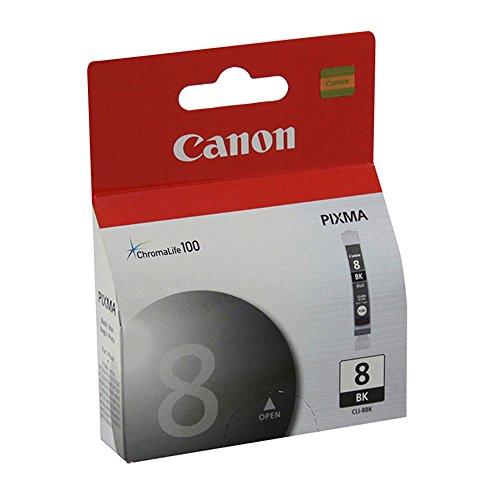 (Canon MP 610 (CLI-8BK) Black Ink Cartridge Standard Yield)