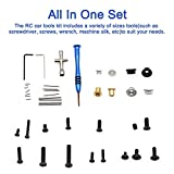 Xpccj 1/14 RC Car Tools Kit with Box Repair Tool
