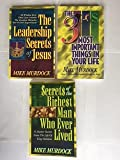 img - for Mike Murdock (3 Book set) The Leadership Secrets of Jesus -- The 3 Most Important Things in Your Life -- Secrets of the Richest Man Who Ever Lived, By Mike Murdock book / textbook / text book