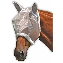 Roma Mesh FLY Mask - White, Full