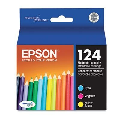 EPST124520 - Epson T124520 124 Moderate Capacity Ink - 124 Type