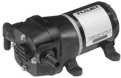 FloJet 04105143A Marine Freshwater Shower Drain Pump (3.3-GPM, 12-Volt, (Flojet Marine Pumps)