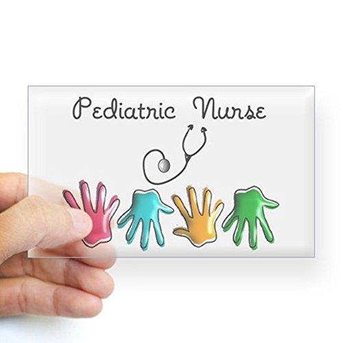 CafePress - Pediatric Nurse Sticker - Rectangle Bumper Sticker Car Decal