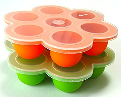 7 Opening Silicone Baby Food Freezer & Storage Tray by S/V Trading Company that we recomend personally.