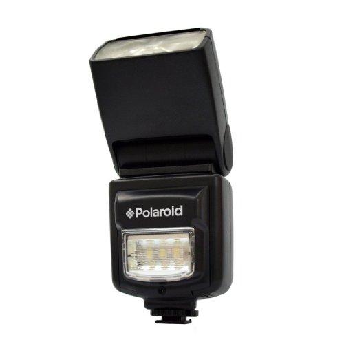 Polaroid PL-150DN Studio Series Digital TTL Shoe Mount Bounce ''Dua'' Flash + Built In LED Video Light For The Nikon D40, D40x, D50, D60, D70, D80, D90, D100, D200, D300, D3, D3S, D700, D3000, D5000, D3100, D3200, D7000, D5100, D4, D800, D800E Digital SLR C by Polaroid