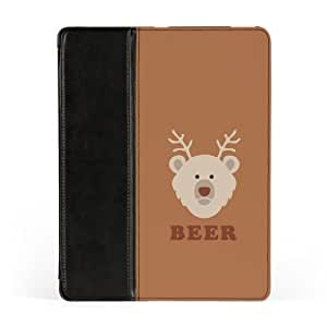 Beer Premium Faux PU Leather Case, Protective Hard Cover Flip Case for Apple? iPad 2 / 3 and iPad 4 by Chargrilled + FREE Crystal Clear Screen Protector