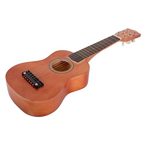 21''Children's Acoustic Guitar & Pick & Strings Toy Guitar (Bronze)
