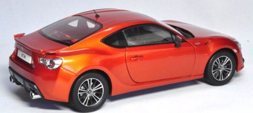2013 Toyota 86 GT Left Hand Drive Orange Metallic 1/18 by Century Dragon 1002C by Dragon Century