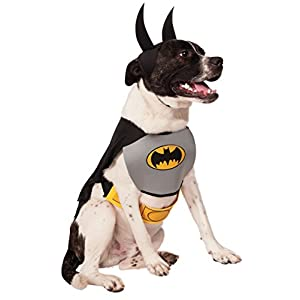 Rubie's DC Comics Pet Costume, Classic Batman, Medium