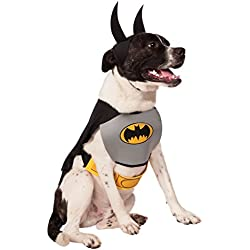 DC Comics Pet Costume, Classic Batman, Large
