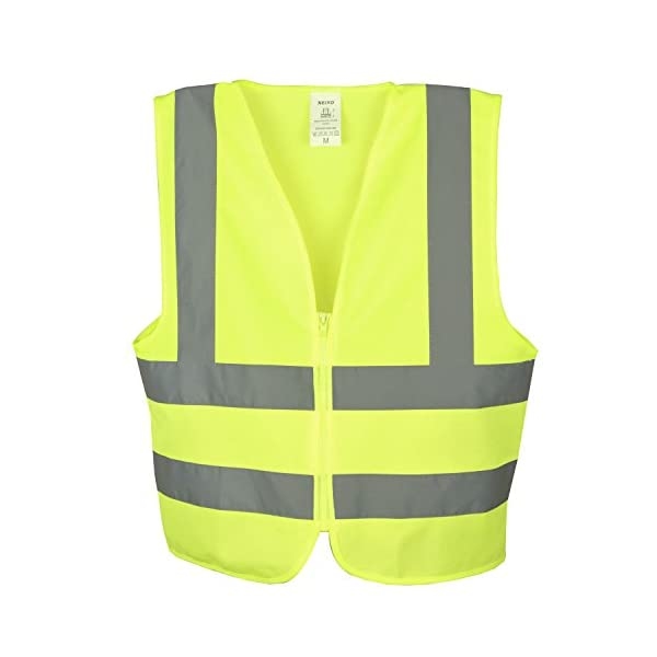 Neiko 53941A High Visibility Safety Vest, Large, Neon Yellow 1