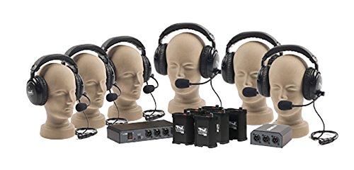 Portacom Intercom (Anchor Audio COM-60FC PortaCom Wired Intercom Package - 6 Users, Cables Not Included)