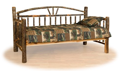 Furniture Barn USA Rustic Hickory Day Bed- Amish Made ()