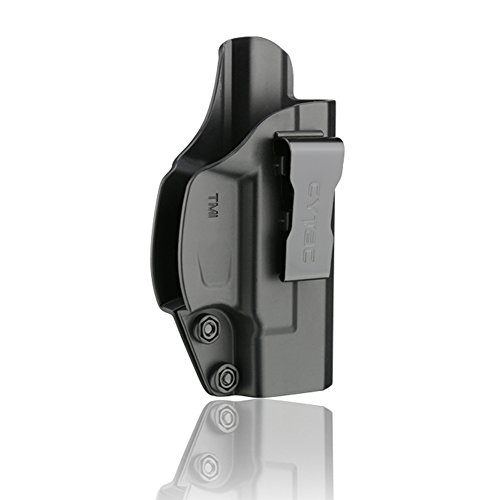 (Taurus Millennium G2 IWB Holster, Polymer Inside The Waistband Concealed Carry Belt Holsters Fit Taurus G2c G2 PT111 PT132 PT138 PT140 PT145 PT745(No Pro), Right Handed)