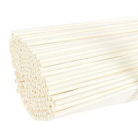 Cake Pop Sticks - 300-Count 6-Inch Paper Sticks for Lollipops, Candy Apples, Cake Pops, White