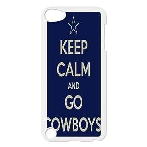 Dallas Cowboys Series, Ipod Touch 5 Cases, Dallas Cowboys Football Oh Cases for Ipod Touch 5 [White]
