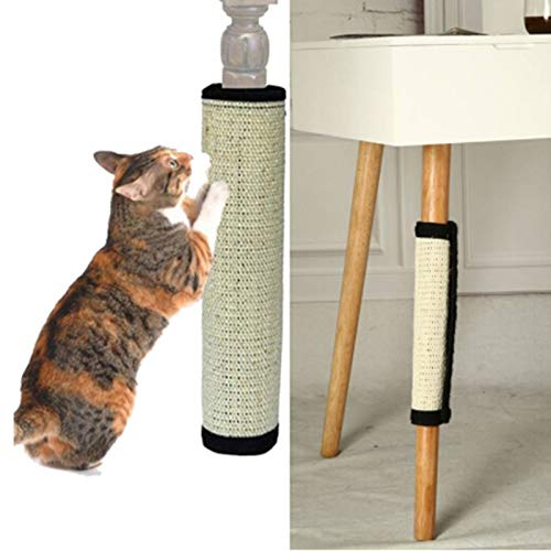 Cat Toys - Cat Scratching Post Natural Sisal Mat Toy Tower Climbing Tree Scratch Pad Board Protecting - Green Scratchers Soccer Assortments Girl Hang Balls Squeaky Duck Springs Valentines